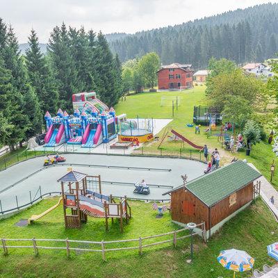 Il parco giochi dell'Hotel da Barba