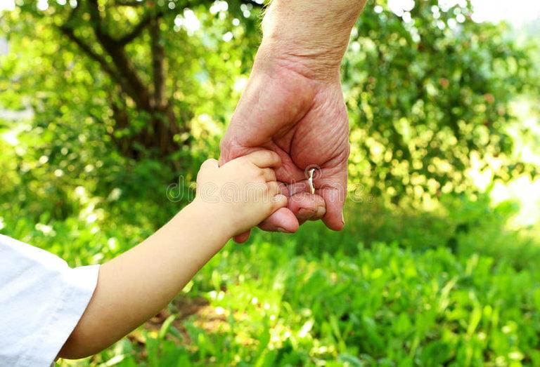 Mani nonno e nipote 75886518