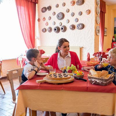 Sala pranzo e colazioni