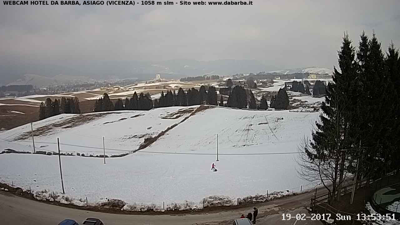 Webcam Asiago - Hotel Da Barba